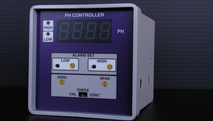 デジタル指示pH調節計